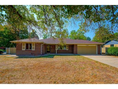 Arapahoe County Single Family Home Under Contract: 13676 East 5th Place