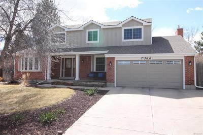 Centennial Single Family Home Active: 7922 South Corona Court