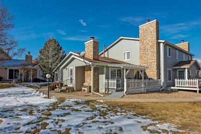 Arvada Condo/Townhouse Under Contract: 8449 Everett Way #A