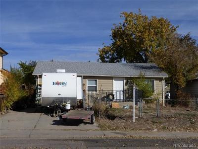 Denver Single Family Home Active: 3181 West 65th Avenue