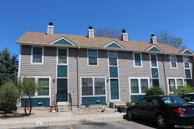 Northglenn Condo/Townhouse Under Contract: 11572 Community Center Drive #37