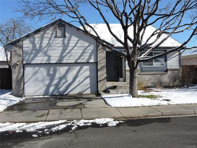 Aurora Single Family Home Active: 750 Kittredge Street
