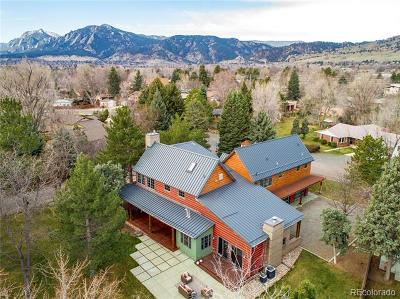 Boulder Single Family Home Active: 2015 Hermosa Drive