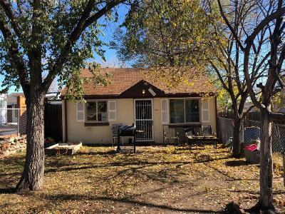 Englewood Single Family Home Under Contract: 3460 South Canosa Court