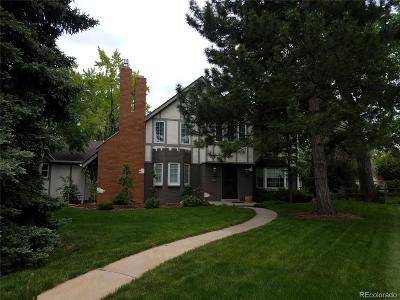 Littleton Single Family Home Under Contract: 6960 South Harlan Court