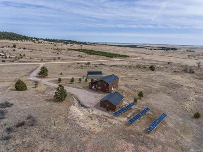 Elbert CO Single Family Home Under Contract: $549,900