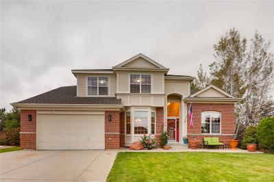 Arvada Single Family Home Under Contract: 17527 West 61st Lane