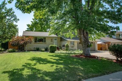 Broomfield Single Family Home Under Contract: 1080 Cedar Street