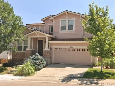 Highlands Ranch Single Family Home Active: 10792 Cedar Brook Lane