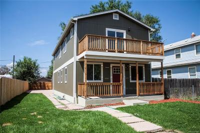 Denver Single Family Home Active: 4357 Sherman Street