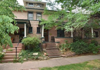 Denver CO Condo/Townhouse Under Contract: $479,000