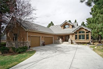 Castle Rock Single Family Home Under Contract: 3117 Ramshorn Drive