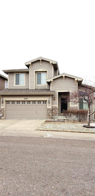 Highlands Ranch Single Family Home Active: 3205 Kedleston Avenue