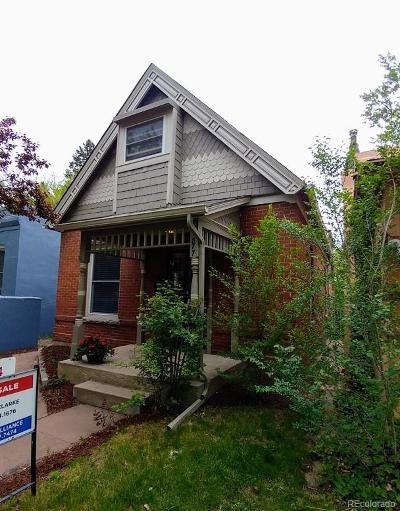 Single Family Home Under Contract: 1877 South Washington Street