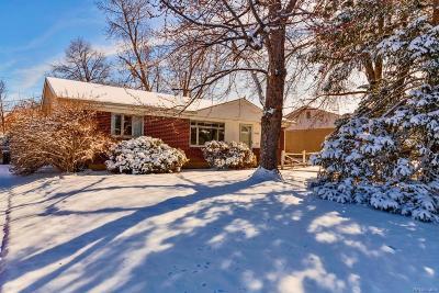 Denver Single Family Home Active: 2562 South Quitman Street