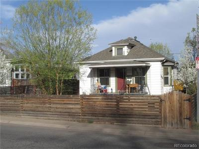 Denver Single Family Home Active: 4828 Zuni Street