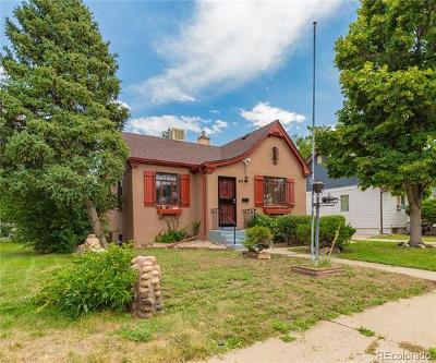 Denver Single Family Home Active: 620 King Street