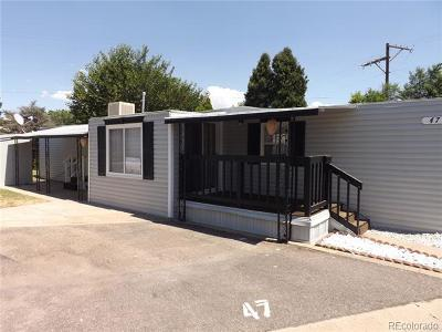 Denver Single Family Home Active: 3500 South King Street #47