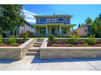 Denver Single Family Home Active: 1501 South Clayton Street