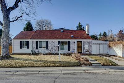 Denver Single Family Home Active: 6030 East 11th Avenue