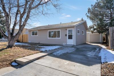 Aurora CO Single Family Home Under Contract: $299,000