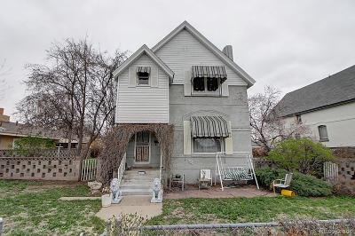 Denver Single Family Home Active: 2308 South Emerson Street