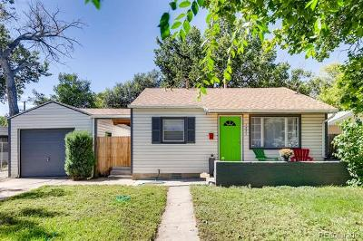Denver Single Family Home Active: 1331 South Osceola Street