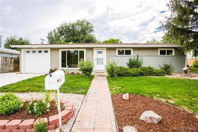 Arvada Single Family Home Active: 6725 Zephyr Street