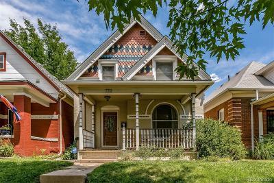Denver Single Family Home Active: 772 South Grant Street
