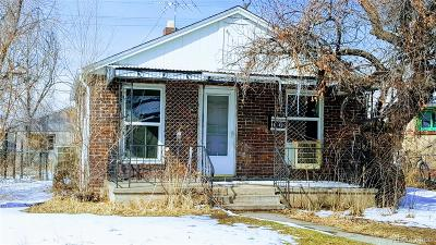 Denver Single Family Home Under Contract: 4101 Saint Paul Street
