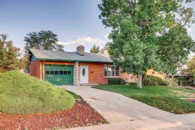 Denver Single Family Home Under Contract: 2780 South Utica Street