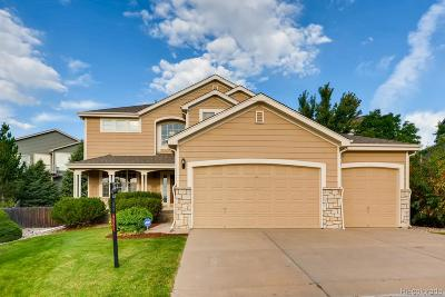 Castle Pines Single Family Home Under Contract: 8229 Cottongrass Court
