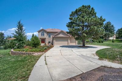 Monument Single Family Home Active: 1520 Old Antlers Way