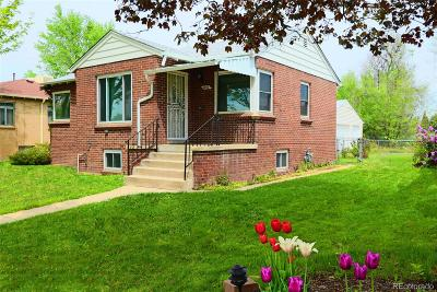 Denver Single Family Home Active: 4254 Osceola Street