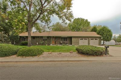 Longmont Single Family Home Active: 12707 Hillcrest Drive
