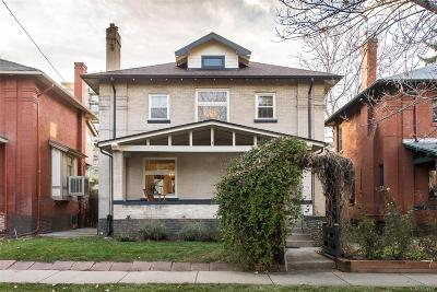 Denver Single Family Home Under Contract: 1669 Adams Street