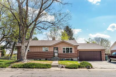 Northglenn Single Family Home Under Contract: 11336 Franklin Street