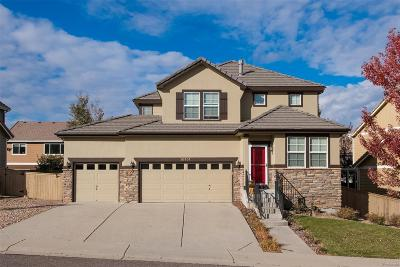 Highlands Ranch Single Family Home Under Contract: 10957 Ashurst Lane