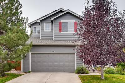 Highlands Ranch Single Family Home Under Contract: 468 Stellars Jay Drive