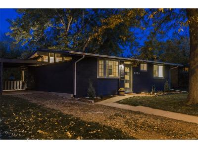 Denver Single Family Home Active: 2056 South Vrain Street