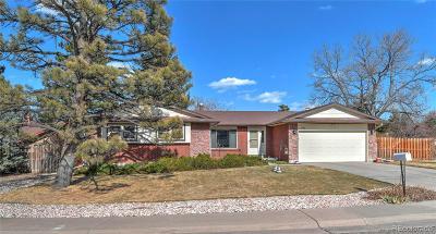 Centennial Single Family Home Active: 7446 South Clarkson Circle