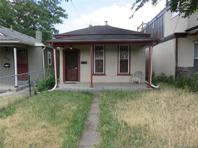 Denver Single Family Home Active: 2526 North Lafayette Street