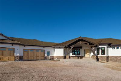 Castle Rock Single Family Home Active: 3780 Ranch Hand Lane