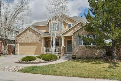 Littleton Single Family Home Active: 11425 West Coal Mine Drive
