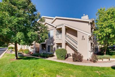 Broomfield Condo/Townhouse Under Contract: 1118 Opal Street #104