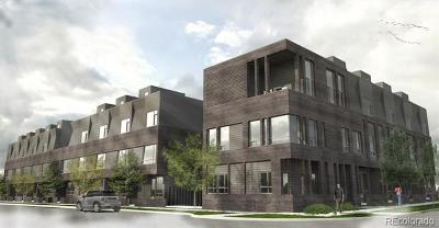 Denver Condo/Townhouse Active: 3961 Inca Street