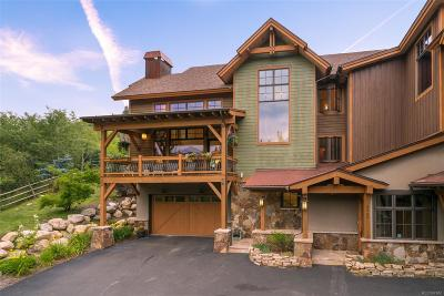 Steamboat Springs Condo/Townhouse Active: 2758 Burgess Creek Road