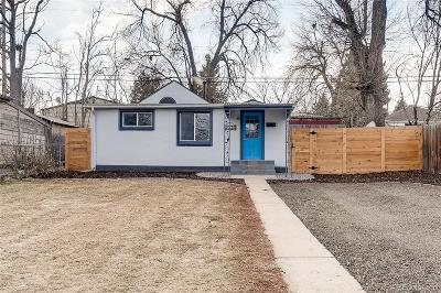 Denver Single Family Home Active: 4494 West Gill Place