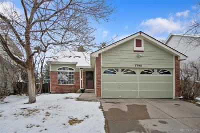 Highlands Ranch, Lone Tree Single Family Home Active: 7061 Palisade Drive