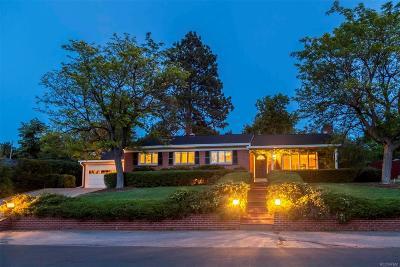 Wheat Ridge Single Family Home Under Contract: 56 Hillside Drive